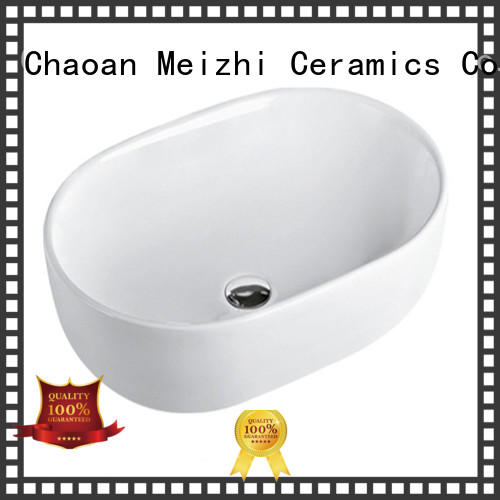 Meizhi gold wash basin size factory price for home