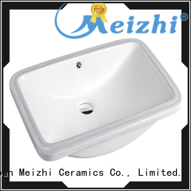 Meizhi countertop basin directly sale for hotel