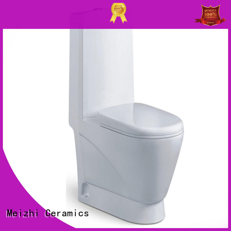 Meizhi one piece toilet reviews with good price for bathroom