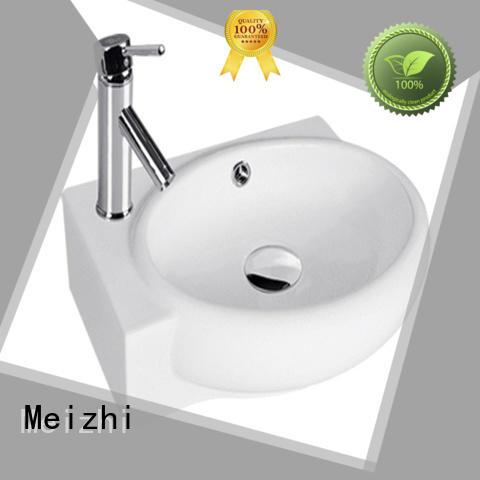 Meizhi wall hung basin manufacturer for bathroom