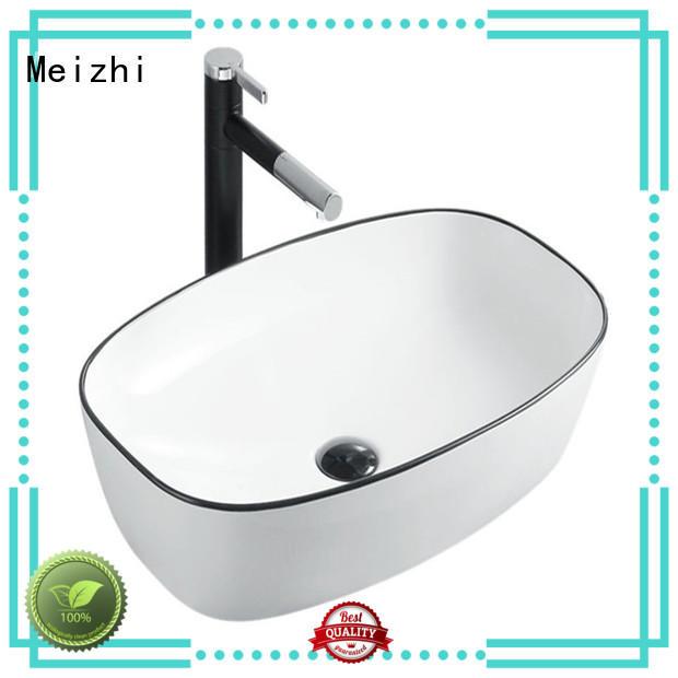 modern black basin wholesale for hotel