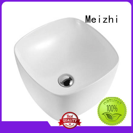 Meizhi toilet hand basin directly sale for hotel