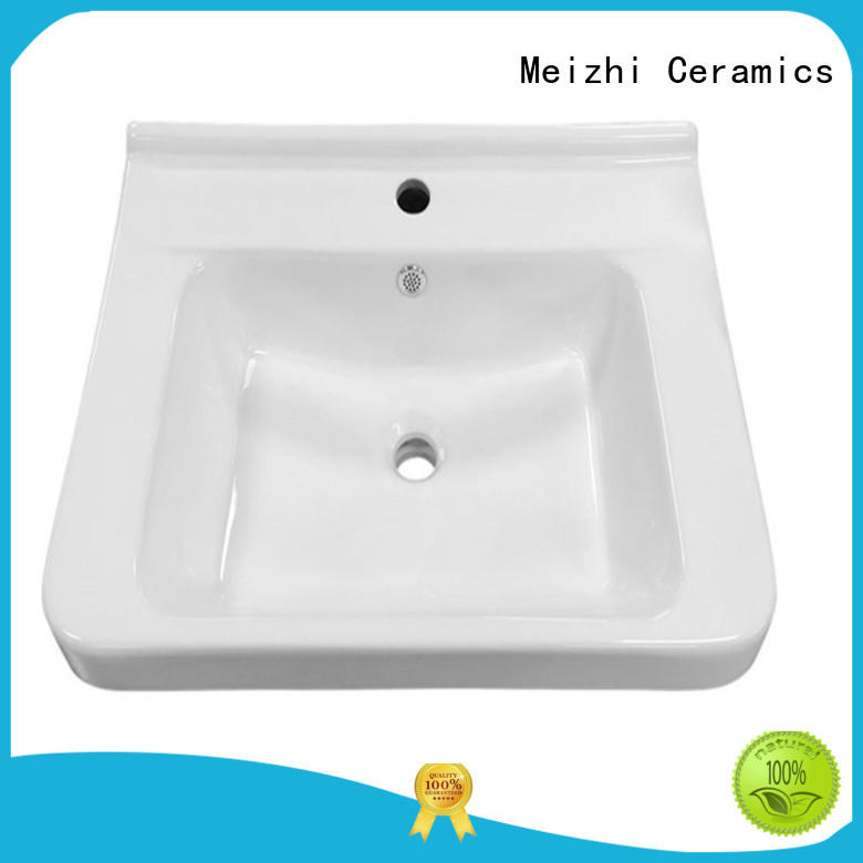 Meizhi ceramic hand wash basin manufacturer for bathroom