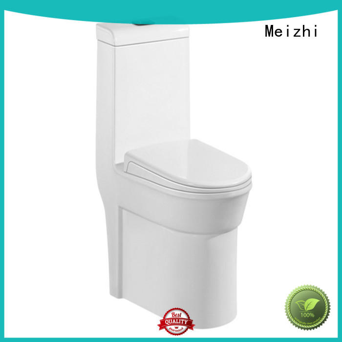 Meizhi self-cleaning one piece round toilet with good price for hotel