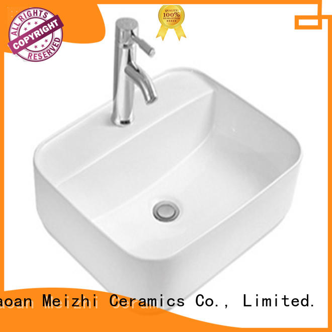 Meizhi elegant toilet wash basin wholesale for hotel