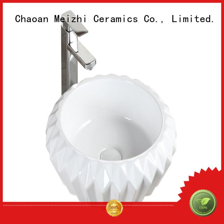 ceramic toilet hand basin customized for hotel