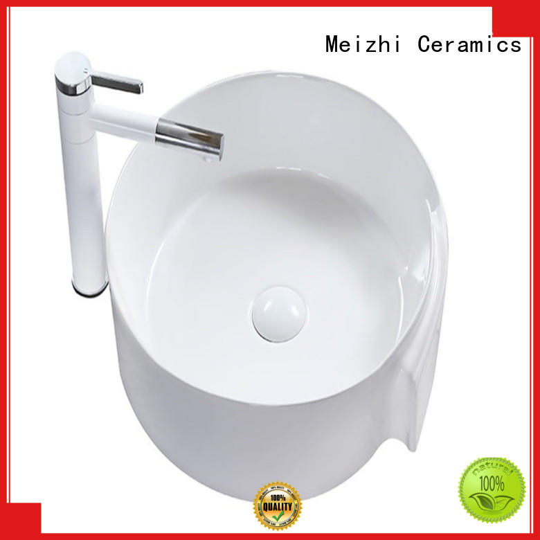 printed gold wash basin factory price for home