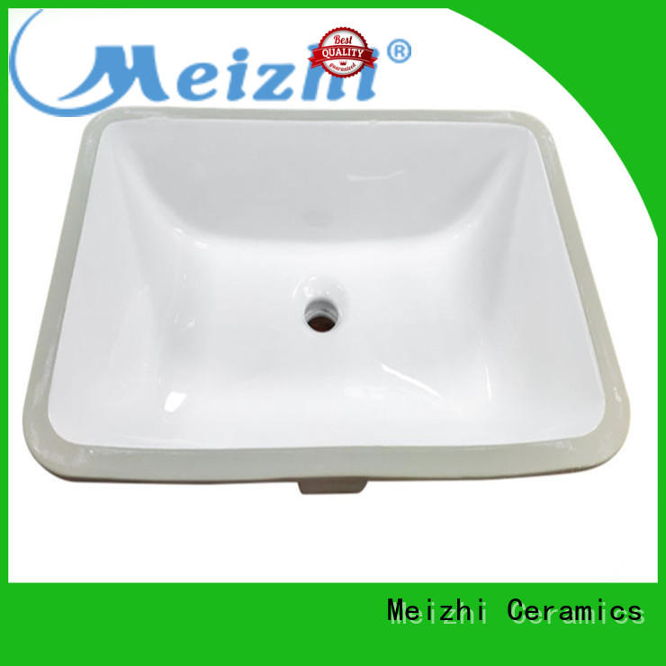 Meizhi ceremic round countertop basin customized for home