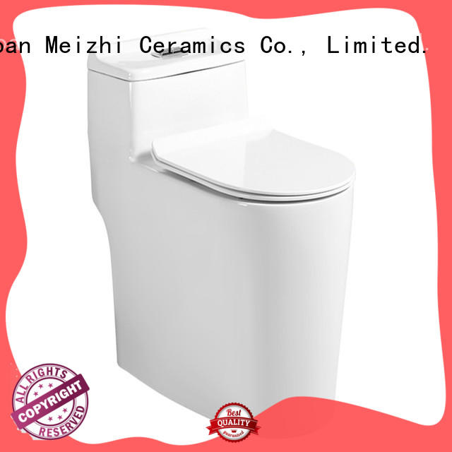 Meizhi one piece comfort height toilet wholesale for washroom