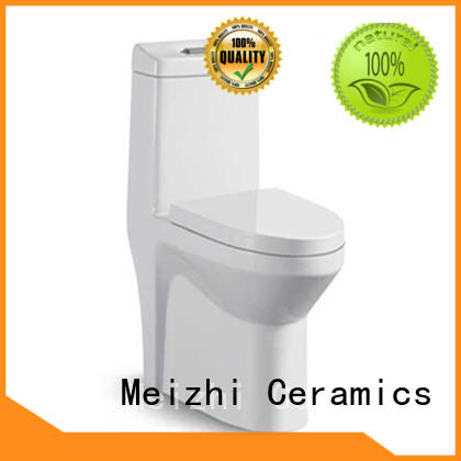 siphonic one piece elongated toilet supplier for home