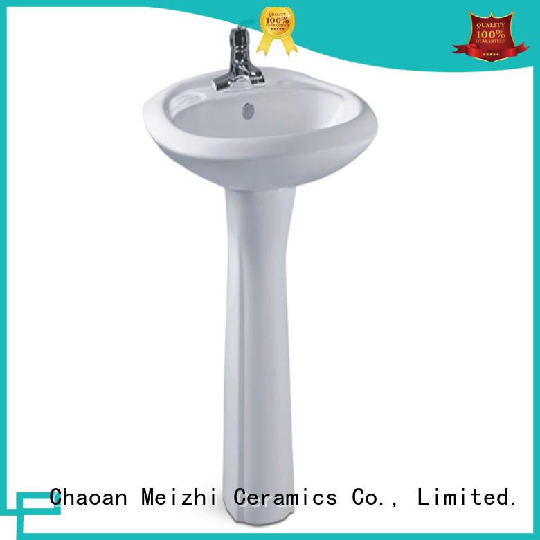 popular small pedestal sink wholesale for washroom