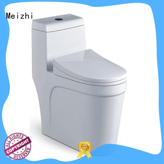 Meizhi colored all in one toilet customized for bathroom