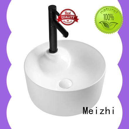 gold ceramic wash basin supplier for bathroom