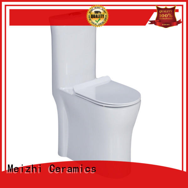 square one piece elongated toilet supplier for home