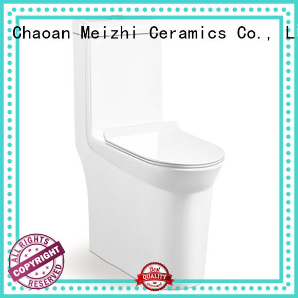 Meizhi one piece toilet directly sale for hotel