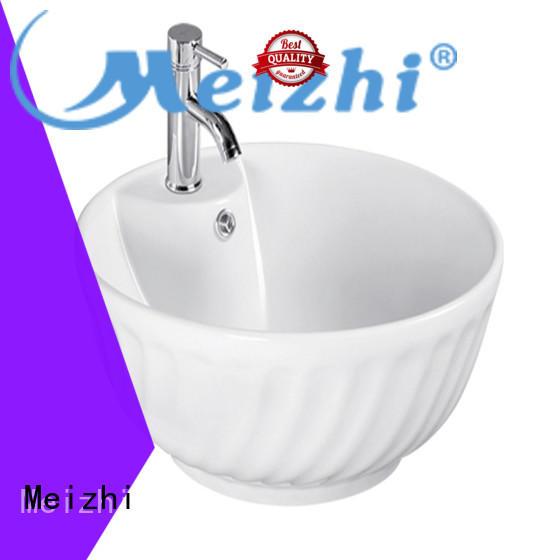 Meizhi modern design stylish wash basin customized for bathroom