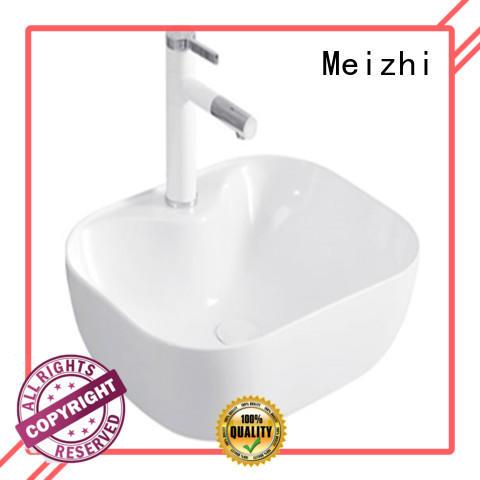 Meizhi hot selling stylish wash basin supplier for washroom
