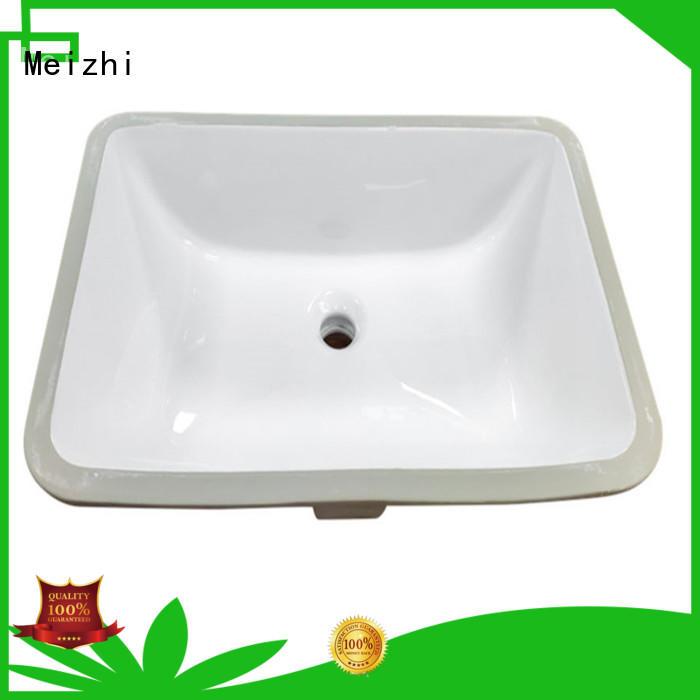 ceramic counter basin customized for washroom