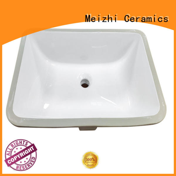 Meizhi wash basin counter supplier for hotel