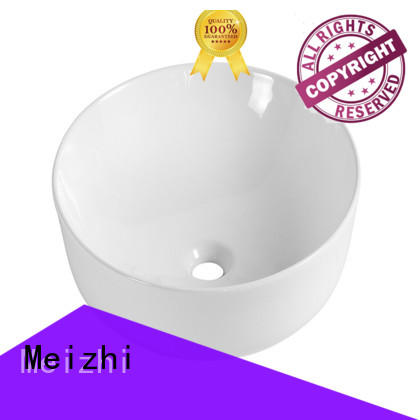 Meizhi fancy toilet wash basin supplier for washroom