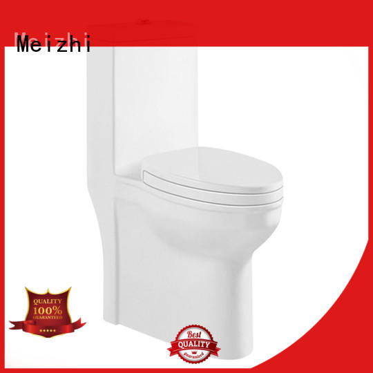 Meizhi colored best one piece toilet directly sale for hotel