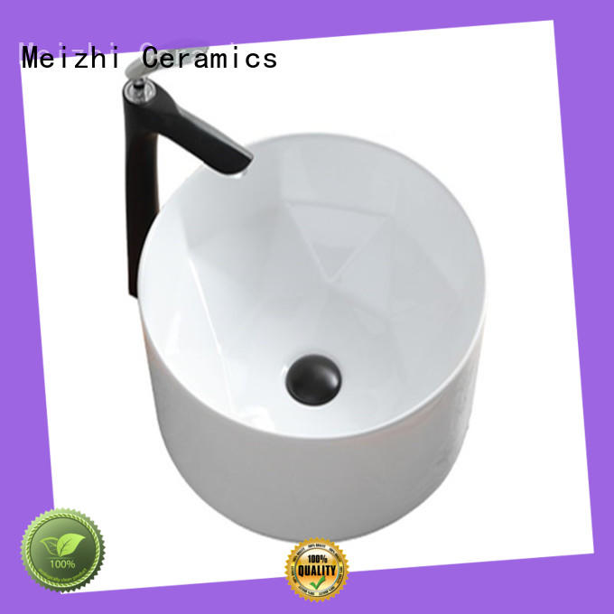 Meizhi elegant sink basin supplier for hotel