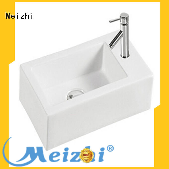 Meizhi gold wash basin size directly sale for hotel