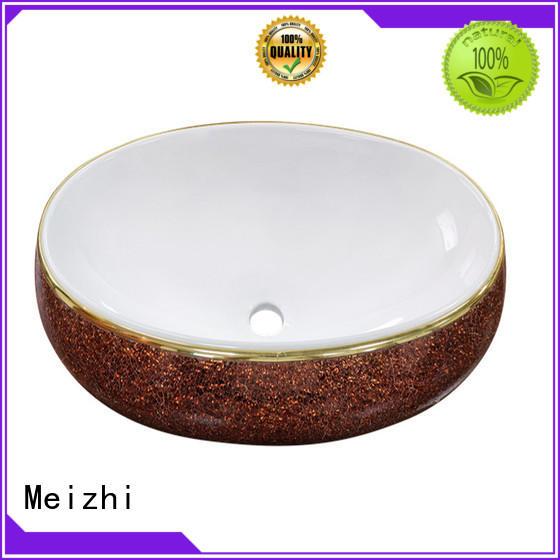Meizhi ceramic round wash basin directly sale for washroom