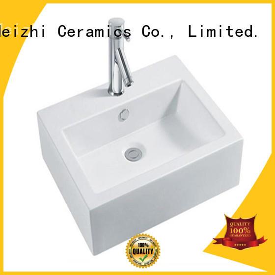 Meizhi printed round wash basin directly sale for washroom
