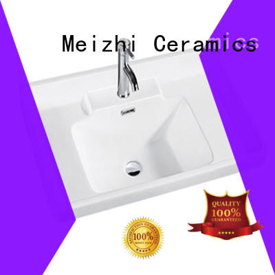 Meizhi excellent bathroom basins and cabinets customized for bathroom