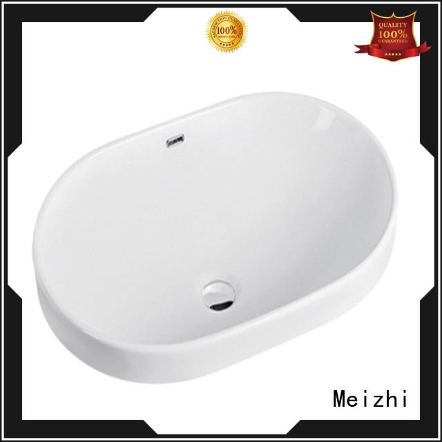 Meizhi popular counter basin customized for hotel