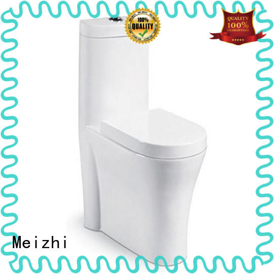 Meizhi colored one piece elongated toilet wholesale for washroom