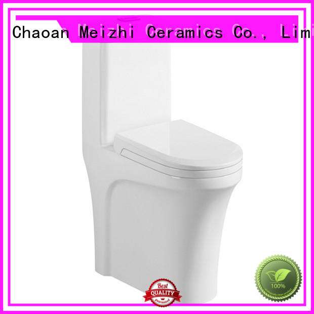 Meizhi one piece comfort height toilet supplier for bathroom