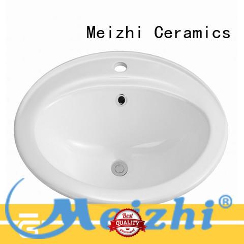 Meizhi wash basin counter manufacturer for washroom