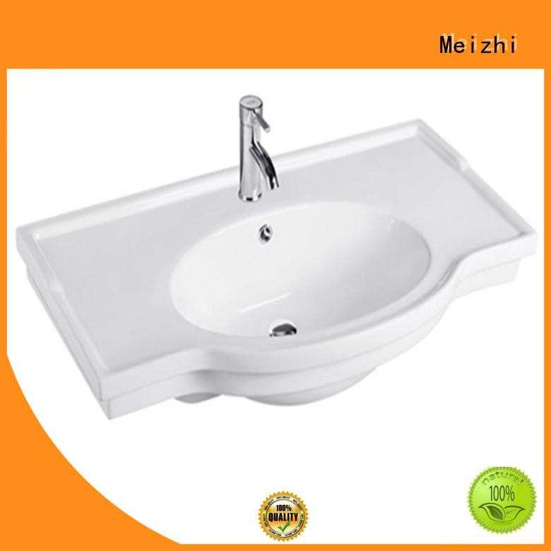Meizhi contemporary bathroom basin units wholesale for bathroom