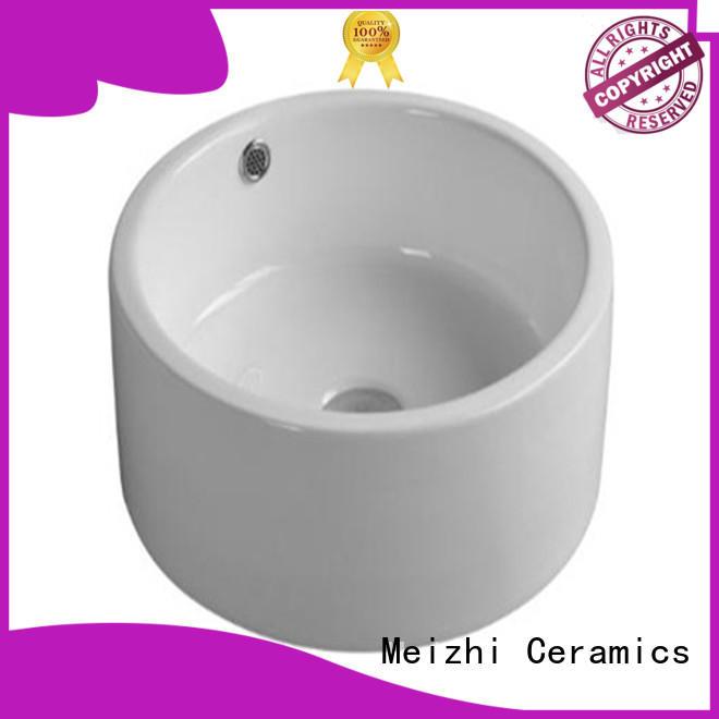 Meizhi ceramic wash basin models wholesale for hotel