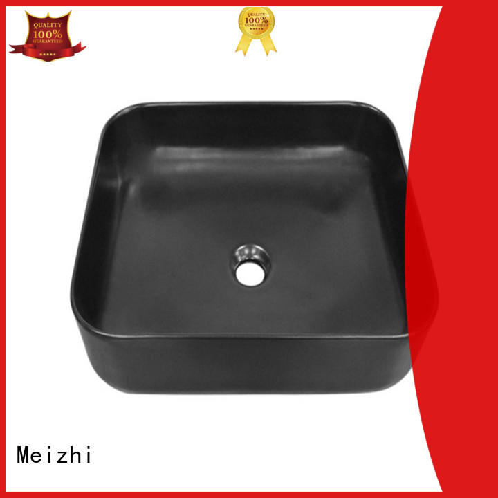 Meizhi modern black sink basin wholesale for bathroom
