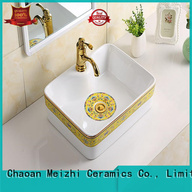 Meizhi toilet wash basin directly sale for hotel