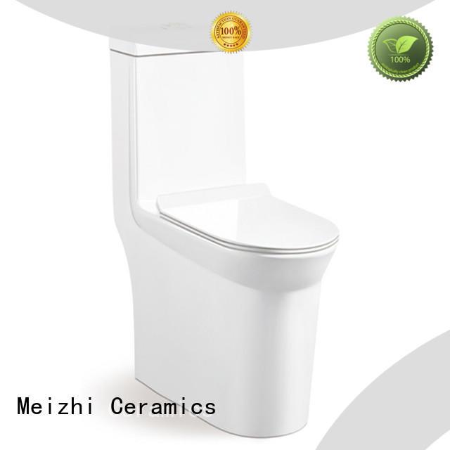 Meizhi square round one piece toilet for bathroom