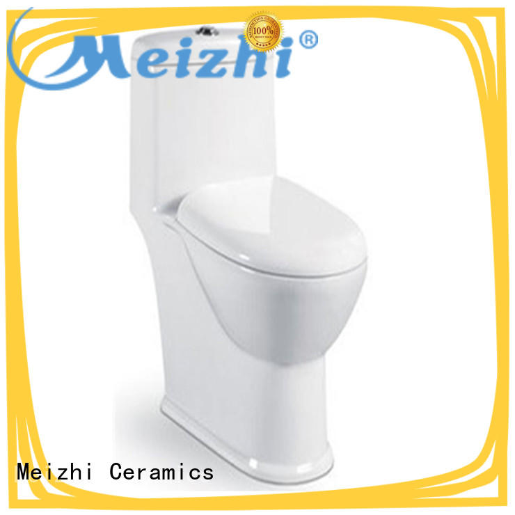 Meizhi colored best flushing toilet customized for bathroom