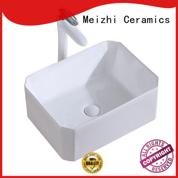 Meizhi wash basin size supplier for home