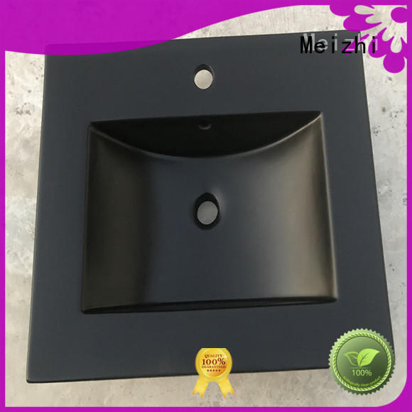 creative black sink basin factory price for hotel