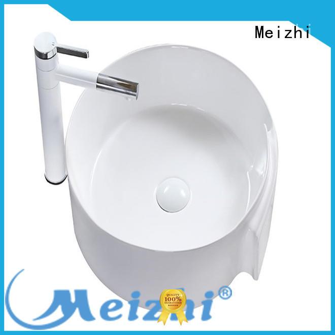 Meizhi gold art basin directly sale for washroom