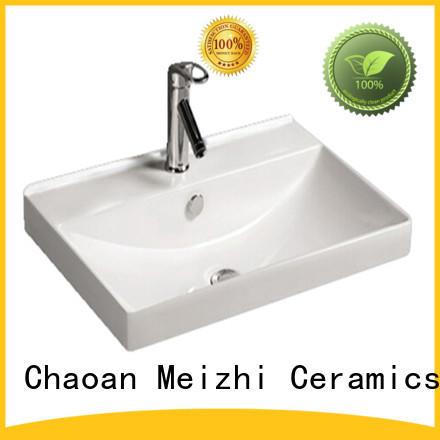 Meizhi ceramic cabinet basin manufacturer for home