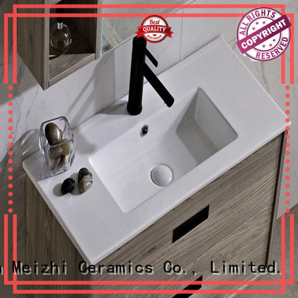 Meizhi contemporary bathroom sink and cabinet combo supplier for bathroom