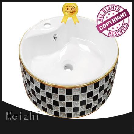Meizhi elegant latest wash basin manufacturer for hotel