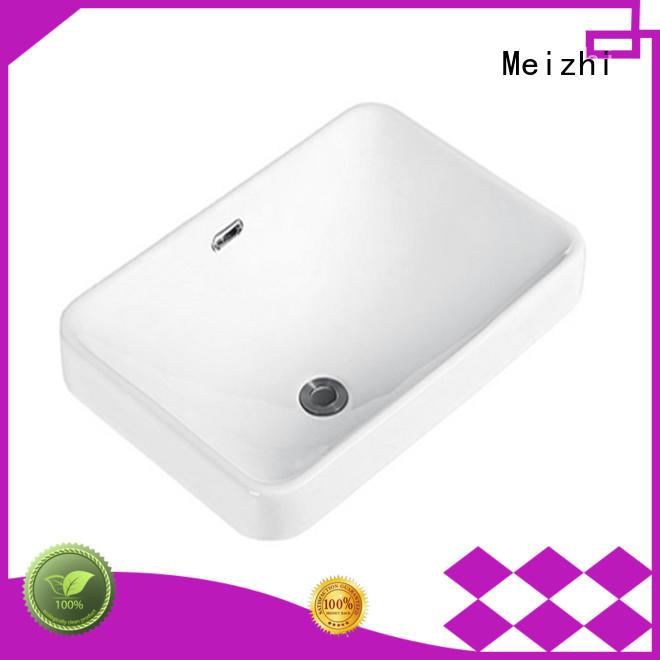 Meizhi popular table top wash basin wholesale for bathroom