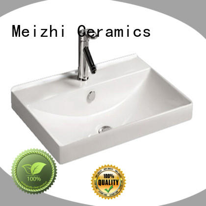 Meizhi excellent vanity basin customized for bathroom