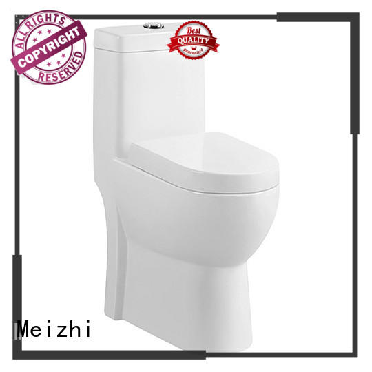 Meizhi one piece toilet reviews customized for hotel