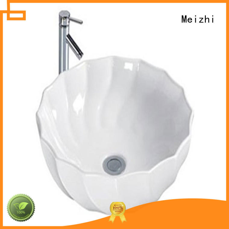 elegant stylish wash basin customized for bathroom